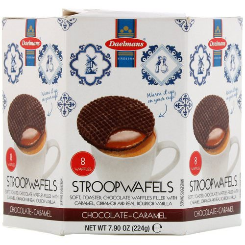 Daelmans, Stroopwafels, Chocolate-Caramel, 8 Waffles, 7.90 oz (224 g) Review