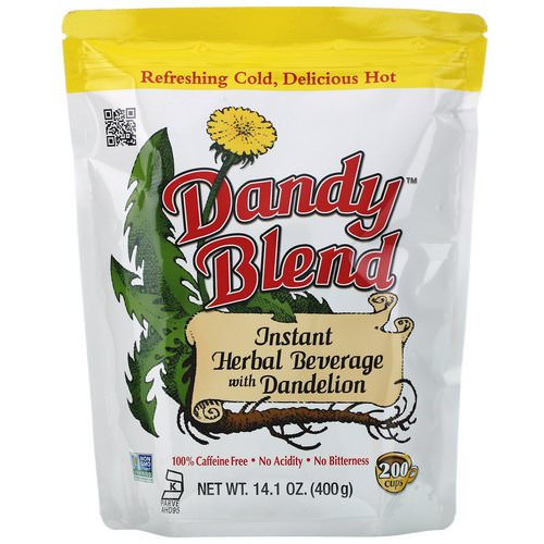 Dandy Blend, Instant Herbal Beverage with Dandelion, Caffeine Free, 14.1 oz (400 g) Review