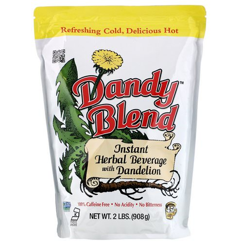 Dandy Blend, Instant Herbal Beverage with Dandelion, Caffeine Free, 2 lbs (908 g) Review