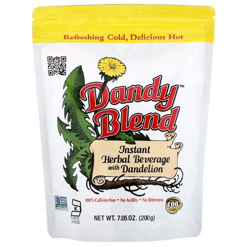 Dandy Blend, Instant Herbal Beverage with Dandelion, Caffeine Free, 7.05 oz (200 g) Review