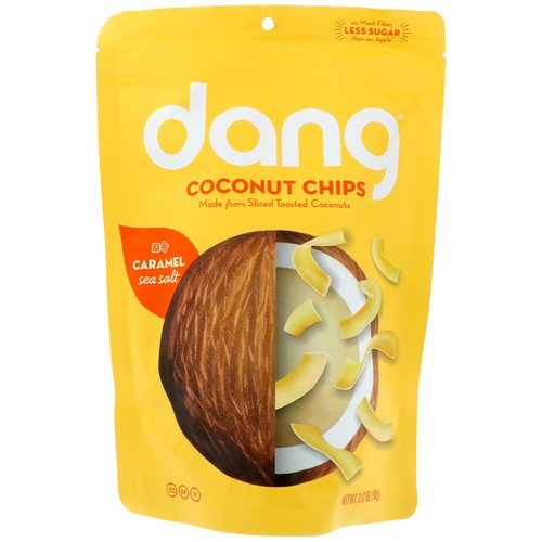 Dang, Coconut Chips, Caramel Sea Salt, 3.17 oz (90 g) Review