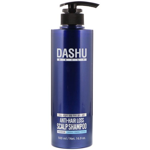 Dashu, Anti-Hair Loss Scalp Shampoo, 16.9 oz (500 ml) Review