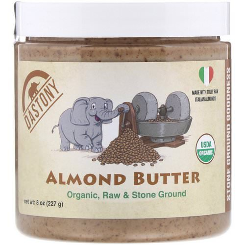 Dastony, 100% Organic, Almond Butter, 8 oz (227 g) Review