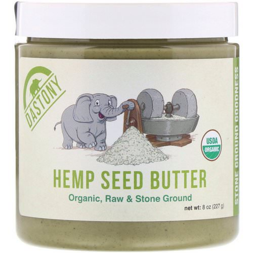 Dastony, 100% Organic Hemp Seed Butter, 8 oz (227 g) Review