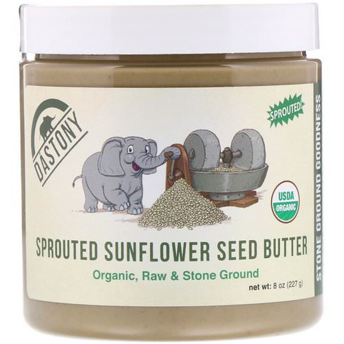 Dastony, 100% Organic Sprouted Sunflower Seed Butter, 8 oz (227 g) Review