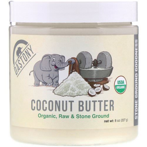 Dastony, Coconut Butter, 100% Organic, 8 oz (227 g) Review