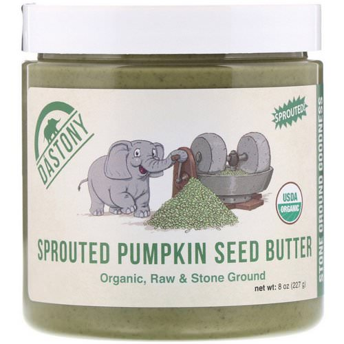 Dastony, Organic, Sprouted Pumpkin Seed Butter, 8 oz (227 g) Review