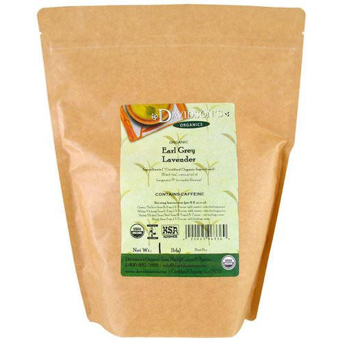 Davidson's Tea, Organic, Earl Grey Lavender Tea, 1 lb Review