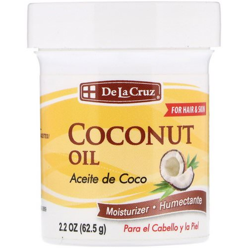 De La Cruz, Coconut Oil, Moisturizer, 2.2 oz (62.5 g) Review