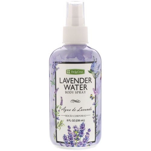 De La Cruz, Lavender Water Body Spray, 8 fl oz (236 ml) Review