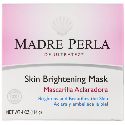De La Cruz, Madre Perla, Skin Brightening Mask, 4 oz (114 g) Review