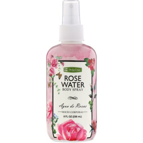 De La Cruz, Rose Water Body Spray, 8 fl oz (236 ml) Review