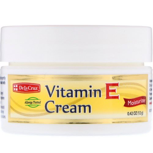 De La Cruz, Vitamin E Cream, 0.42 oz (12 g) Review