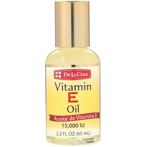 De La Cruz, Vitamin E Oil, 15,000 IU, 2.2 fl oz (65 ml) Review