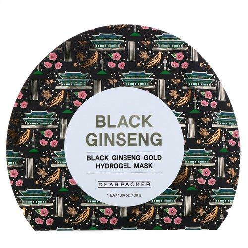 Dear Packer, Black Ginseng, Black Ginseng Gold Hydrogel Mask, 1 Mask, 1.06 oz (30 g) Review