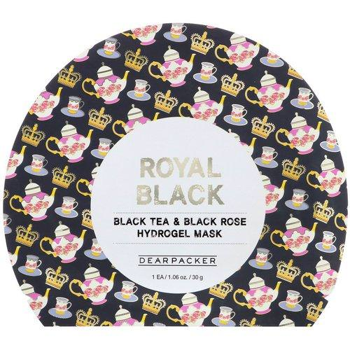 Dear Packer, Royal Black, Black Tea & Black Rose Hydrogel Mask, 1 Mask, 1.06 oz (30 g) Review