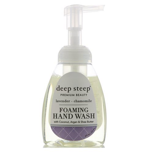 Deep Steep, Foaming Hand Wash, Lavender - Chamomile, 8 fl oz (237 ml) Review