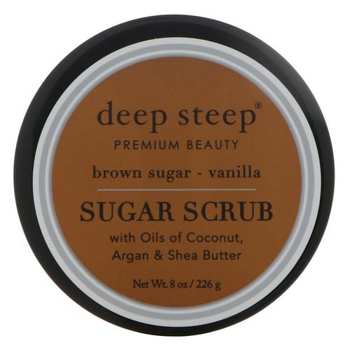 Deep Steep, Sugar Scrub, Brown Sugar - Vanilla, 8 oz (226 g) Review