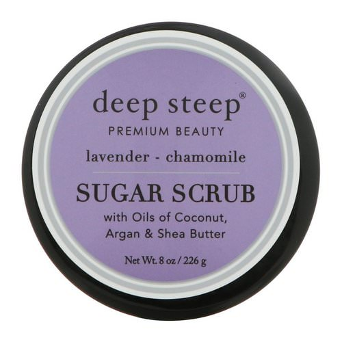 Deep Steep, Sugar Scrub, Lavender - Chamomile, 8 oz (226 g) Review