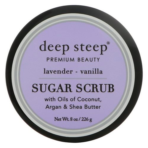 Deep Steep, Sugar Scrub, Lavender - Vanilla, 8 oz (226 g) Review