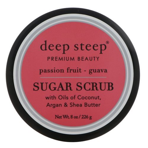 Deep Steep, Sugar Scrub, Passion - Fruit Guava, 8 oz (226 g) Review