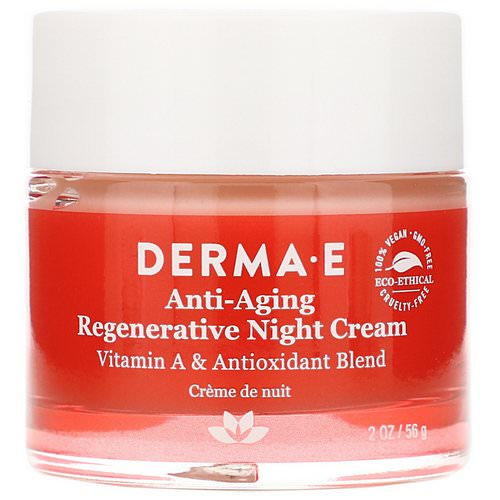 Derma E, Anti-Aging Regenerative Night Cream, 2 oz (56 g) Review
