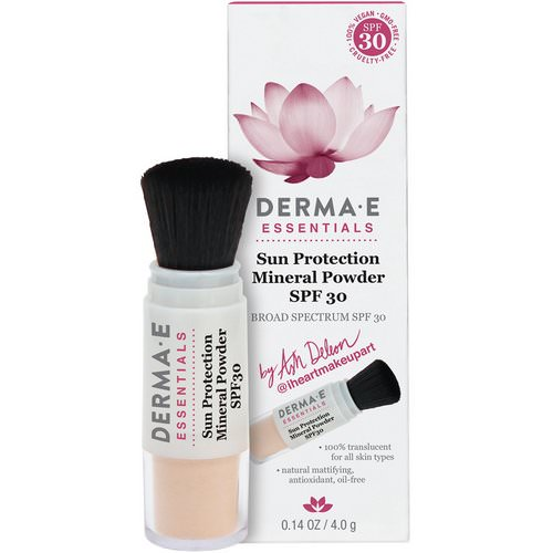 Derma E, Essentials, Sun Protection Mineral Powder, SPF 30, 0.14 oz (4.0 g) Review