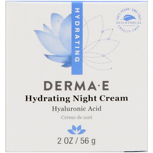Derma E, Hydrating Night Cream, 2 oz (56 g) Review
