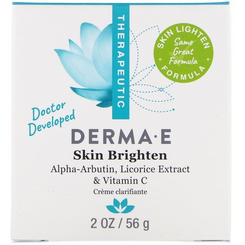 Derma E, Skin Brighten, 2 oz (56 g) Review