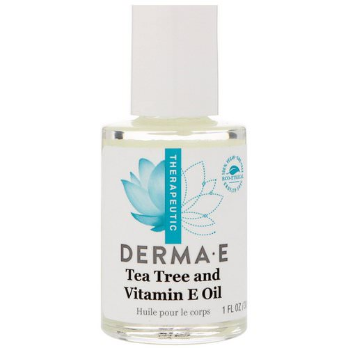 Derma E, Tea Tree and Vitamin E Oil, 1 fl oz (30 ml) Review