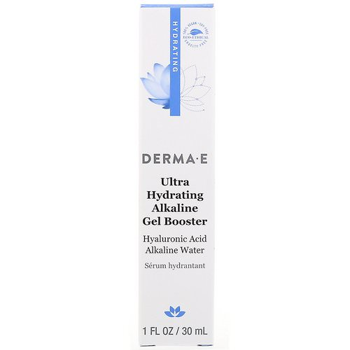 Derma E, Ultra Hydrating Alkaline Gel Booster, 1 fl oz (30 ml) Review