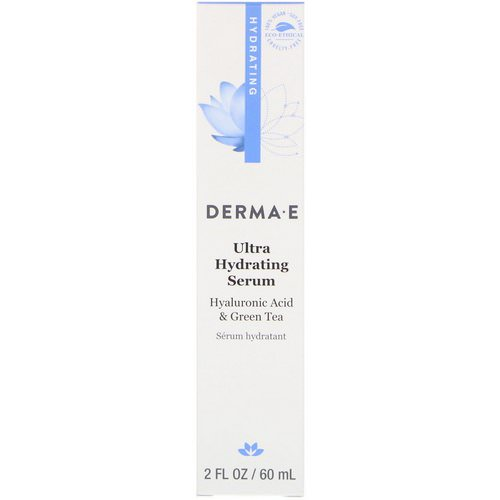 Derma E, Ultra Hydrating Serum, 2 fl oz (60 ml) Review