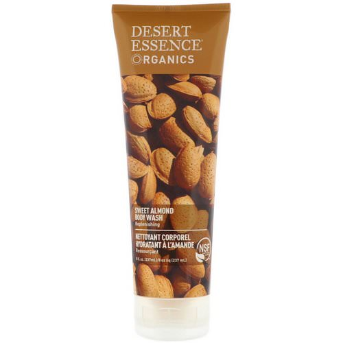 Desert Essence, Organics, Body Wash, Sweet Almond, 8 fl oz (237 ml) Review