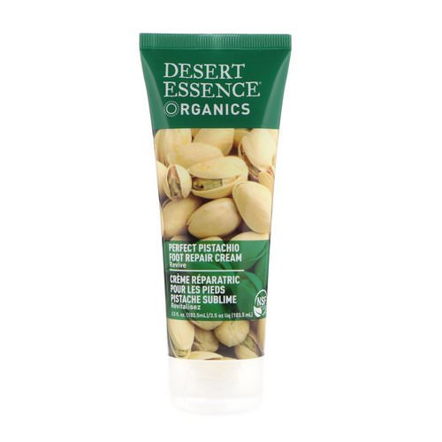 Desert Essence, Organics, Foot Repair Cream, Perfect Pistachio, 3.5 fl oz (103.5 ml) Review