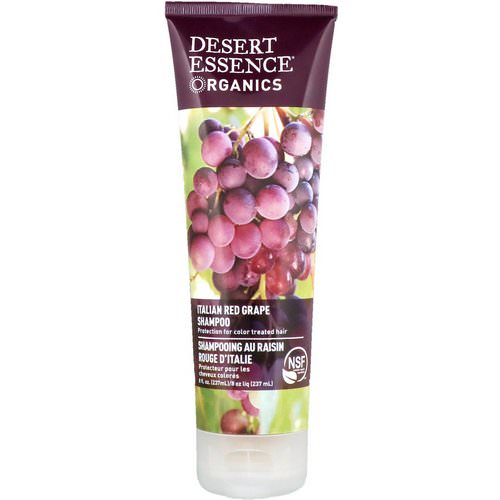 Desert Essence, Organics, Shampoo, Italian Red Grape, 8 fl oz (237 ml) Review