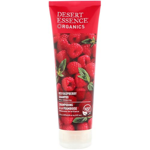Desert Essence, Organics, Shampoo, Red Raspberry, 8 fl oz (237 ml) Review