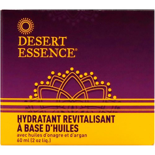 Desert Essence, Revitalizing Oils Moisturizer, 2 fl oz (60 ml) Review