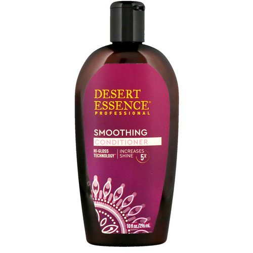 Desert Essence, Smoothing Conditioner, 10 fl oz (296 ml) Review