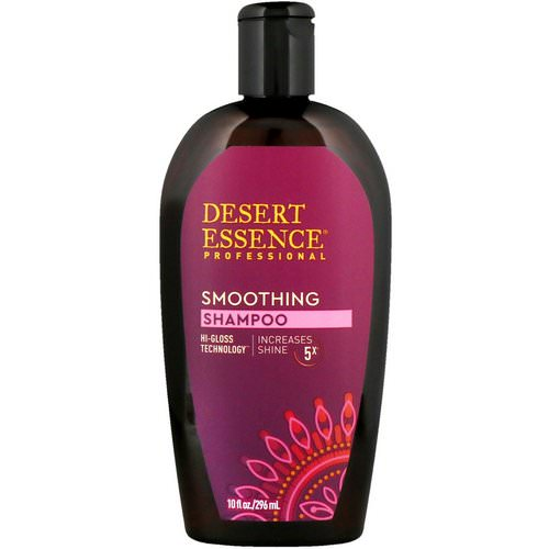 Desert Essence, Smoothing Shampoo, 10 fl oz (296 ml) Review