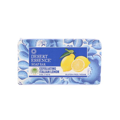 Desert Essence, Soap Bar, Exfoliating Italian Lemon, 5 oz (142 g) Review