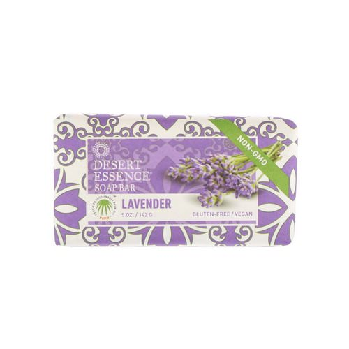 Desert Essence, Soap Bar, Lavender, 5 oz (142 g) Review