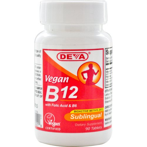Deva, Vegan, B12, Sublingual, 90 Tablets Review