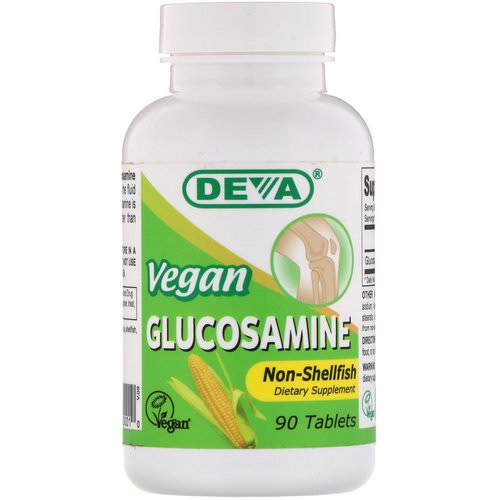 Deva, Glucosamine, Vegan, 90 Tablets Review