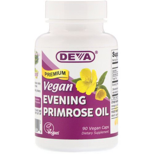 Deva, Vegan, Premium Evening Primrose Oil, 90 Vegan Caps Review