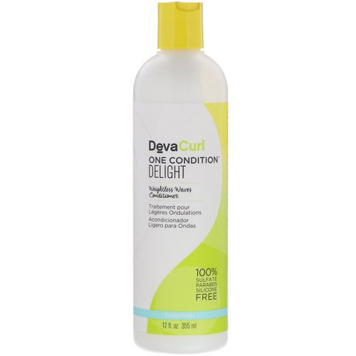 DevaCurl, One Condition, Delight, Weightless Waves Conditioner, 12 fl oz (355 ml) Review