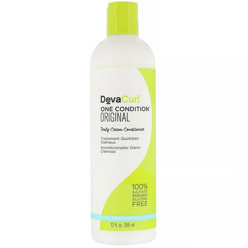 DevaCurl, One Condition, Original, Daily Cream Conditioner, 12 fl oz (355 ml) Review
