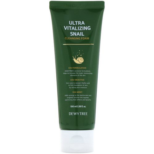 Dewytree, Ultra Vitalizing Snail Cleansing Foam, 3.38 fl oz (100 ml) Review