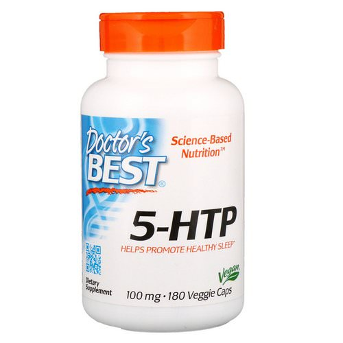 Doctor's Best, 5-HTP, 100 mg, 180 Veggie Caps Review