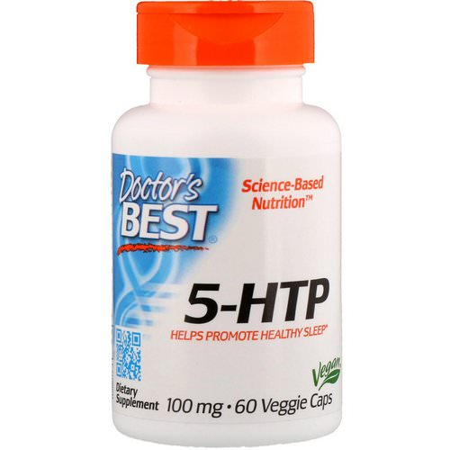 Doctor's Best, 5-HTP, 100 mg, 60 Veggie Caps Review