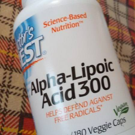 Doctor's Best Supplements Antioxidants Alpha Lipoic Acid